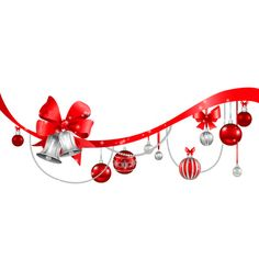 transparent_christmas_decoration_png_clipart.png ❤ liked on Polyvore featuring christmas, cluster frame, frame and natale
