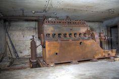 Notstromagregat MAN Diesel - Berlin Story Bunker