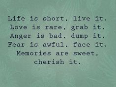 Life is short  #quotes #life