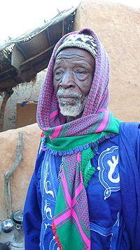 Moorish Fulani Man of Mali,Northwest Africa.