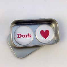 Fun Valentine Day Birthday Dork Magnet Gift Set Say It With Magnets Handmade Perfect Small Gift for Him or Her Valentines Day Birthday, Birthday Gifts, Tin Gifts, A4 Paper, Small Gifts, Gifts For Him, Magnets, Sunglasses Case, Best Gifts