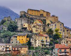 Town of Corte, Corsica