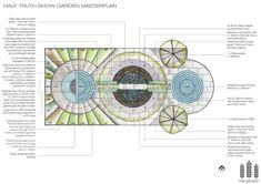Half-truth show garden masterplan