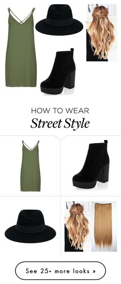 """Street Style (read the D)"" by tillysfashion on Polyvore featuring Topshop, New Look and Maison Michel"