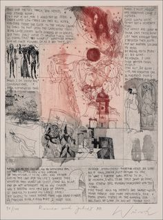 Ádám Würtz – Romeo and Juliet Collages, Romeo And Juliet, William Shakespeare, Printmaking, Fairy Tales, Illustrator, Vintage World Maps, Literature, Photos