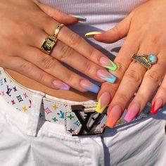 Awesome Acrylic Coffin Nails Designs In Summer - Pretty nails,Awesome Acrylic Coffin Nails De. - Awesome Acrylic Coffin Nails Designs In Summer – Pretty nails, - Aycrlic Nails, Swag Nails, Nail Nail, Edgy Nails, Shellac Nail Art, Zebra Nails, Nails Polish, Neutral Nails, Gradient Nails