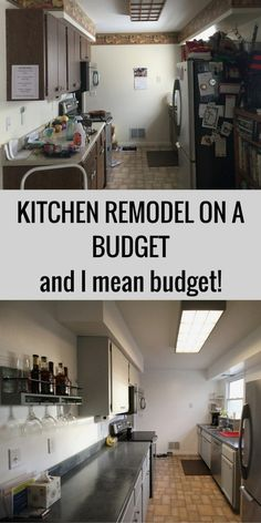 Stunning Small kitchen remodel on a budget ideas,Small kitchen cabinets in kenya and Kitchen remodel boise tips. 1970s Kitchen Remodel, Budget Kitchen Remodel, Kitchen Cabinet Remodel, Kitchen On A Budget, Home Decor Kitchen, Country Kitchen, Kitchen Design, Kitchen Ideas, Colonial Kitchen