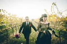 Gothic Wedding in Italy | Fly Away Bride