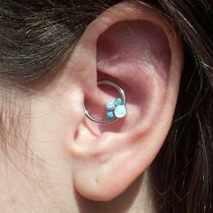 cannot decide between daith or conch Fancy #Anatometal  cluster, daith by Ryan Ouellette.