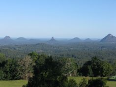 Spent my mother's day at Mary Cairncross Park with the stunning view over the Glass House Mountains. Sunshine Coast, Qld, Australia.
