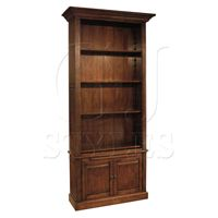 Single Open Bookcase-Click for Larger Picture