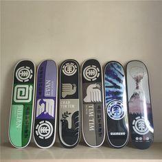 "ELEMENT Graphics Skateboad Deck 7.75""/8"" Boards Skateboard Canadian Maple Skateboarding Decks"