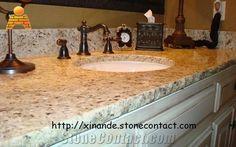 Santa Cecilia Light Granite Bath Top