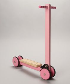 Pink Wooden Folding Scooter by Le Toy Van on #zulilyUK today!