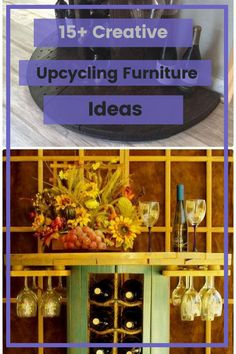 15+ Creative Upcycling Furniture Ideas that Must You See #upcyclingfurnitureideas Upcycled Furniture, Wood Furniture, Furniture Ideas, Furniture Design, Diy Projects, Creative, Fun, Home Decor, Repurpose