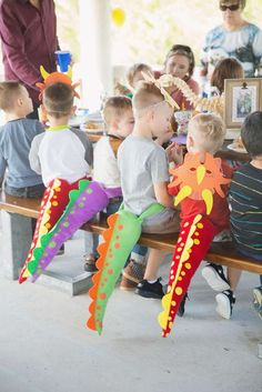 Dinosaur Party Birthday Party Ideas | Photo 6 of 30 | Catch My Party