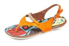 POP ORANGE sandal