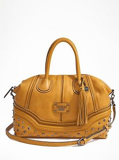 Chelsea Satchel | GUESS.com so pretty for this falln coming up also availeble in more colors