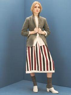 Indian Hand Made Block Print Skirt by Renli Su
