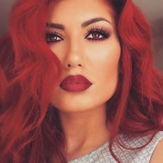 #redhead #makeup Inspiration
