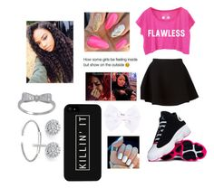"""""""Untitled #49"""" by thy-krave-courtney ❤ liked on Polyvore featuring Neil Barrett, Full Tilt and Palm Beach Jewelry"""