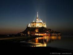 Mont St. Michel, France....someday I'll make it here!