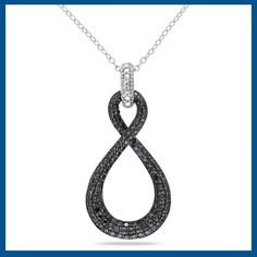 What event and type of outfit would you wear this black diamond necklace?