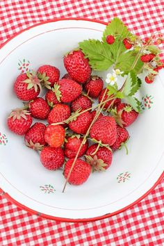 VIBEKE DESIGN: jordbær