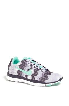 Mint & gray chevron Nikes? Yes, please!