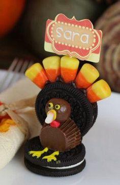 Oreo Turkey Crafts | AllFreeKidsCrafts.com