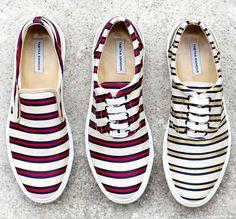 Tabitha Simmons stripe shoes