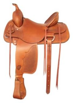 Tex Tan Muleskinner Square Rancher Saddle