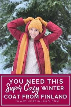 Are you preparing for a trip to magical Lapland, Finland? Or are you visiting somewhere with freezing temperatures? My Lapland packing list will prepare you for harsh winters wherever you are! #finland #wintercoat Nordic Style, Scandinavian Style, Finland Facts, Nordic Wedding, Nordic Fashion, Scandi Chic, Lapland Finland, Travel Things, Honeymoon Ideas