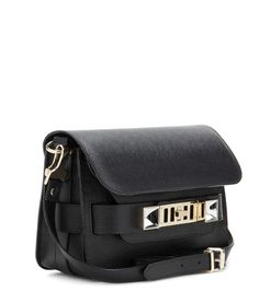 mytheresa.com - Schultertasche PS11 Mini Classic aus Leder - Luxury Fashion for Women / Designer clothing, shoes, bags