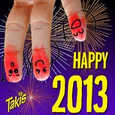 So flipped about a new year with #Takis fans!! Hope 2013 is treating you as awesome as you are!!