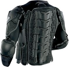 Thor Impact Black Rig Se (back) Motorbike Jackets, Motorcycle Suit, Harley Davidson, Futuristic Armour, Riding Gear, Body Armor, Motorcycle Accessories, Tactical Gear, Motorbikes