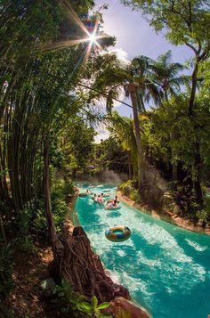 Typhoon lagoon Lazy River.