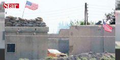 PKK/PYDye ABD bayraklı kamuflaj: Terör örgütü PKKnın Suriye uzantısı PYD Suriyede Fırat Kalkanı Operasyonu ile terör örgütlerini süpürme harekatı yürüten Türkiyeye karşı Amerikan bayrağına sığındı.