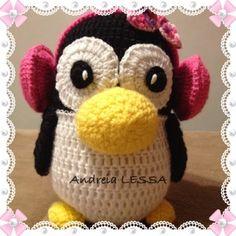 Gente, estou encantada com esses bichinhos de crochê que eu fiz , ADOREI fazer, e gostei Mais ainda foi da reação da minha filha e do meu ...