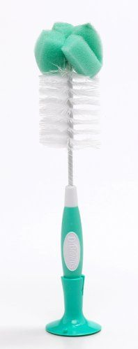 #OXO #Tot Bottle Brush with Nipple Cleaner and Stand, #Orange   oxo tot bottle brush w nipple cleaner and stand   http://amzn.to/Hkc0AJ