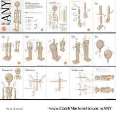 DIY - Figure - AxaMarionettes