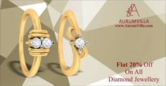 Be a part of our Festive Season SALE and get FLAT 20% OFF on all Diamond Jewellery.  Featured Product:- Calendula Ring & Favia Ring Price Starts From:- Rs.8,646 & Rs.6,488