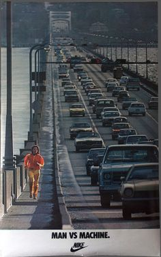 Nike Ad on the 1-90 Floating Bridge