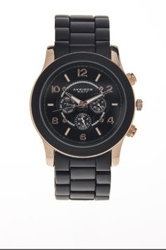 Akriboz Fashion Wrist Watch. Want!