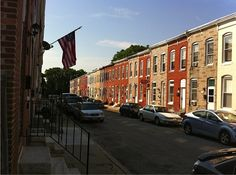 Early morning on the 4th of July in Baltimore's Remington neighborhood.