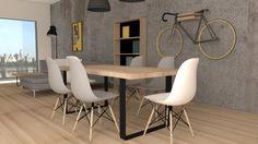 V tomto článku sa dozviete niečo o štýloch interiéru a farbách, ktoré sú pre ne príznačné. Niekedy stačí naozaj málo aby Váš byt pôsobil ako... Eames, Dining Chairs, Furniture, Home Decor, Decoration Home, Room Decor, Dining Chair, Home Furnishings, Home Interior Design