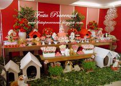 Festa Provençal: Cachorrinhos