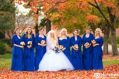 Cobalt Blue Bridesmaids gowns, vibrant fall wedding color pallette, lvc-wedding-photographer-best-harrisburg-lebanon-york-hershey-wedding-photographers-creative-artistic-unique-personal-natural-8