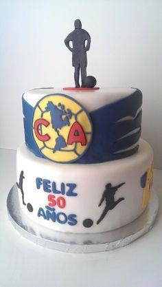 Club America Logo Soccer Cake