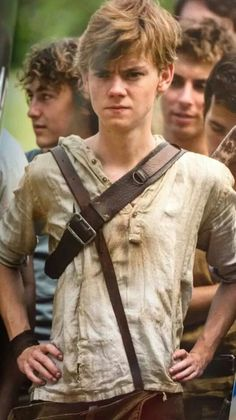 Newt ♡.....the only character in all the books I've read that actually made me tear-up